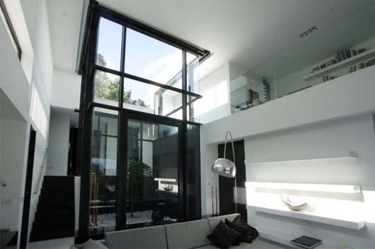C mo cambiar la decoraci n de tu casa con la combinaci n del blanco y negro casas decoracion - Como cambiar de casa con hipoteca ...