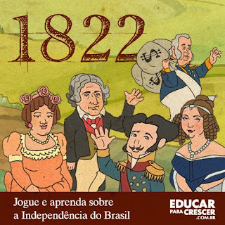 Jogo Educativo Independência do Brasil