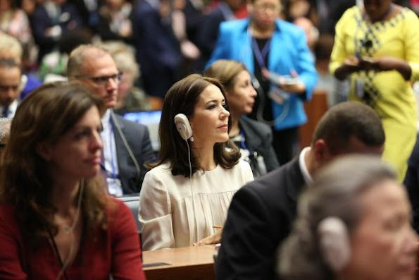 Crown Princess Mary in New York on September the 27 to 29 for among others events to participate in a number of activities related to the UN General Assembly