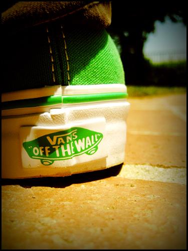 Off Vans Zapato Wall Un The Momento dqwazxqFp