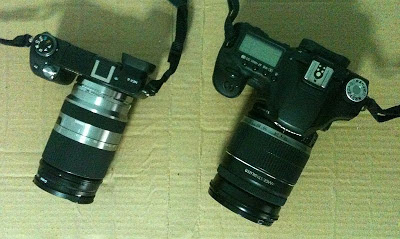 Canon-50D and Sony NEX-6