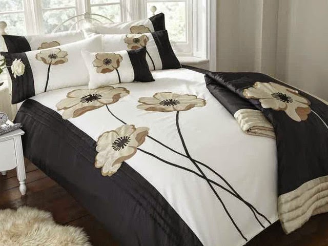 Dorma Black and Cream Bedding