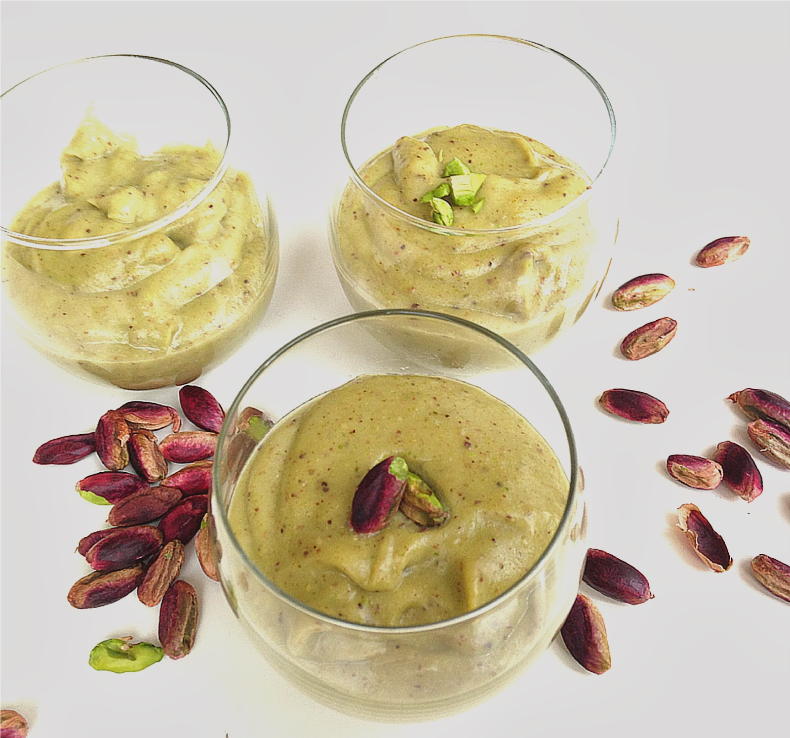 Nuts about food: All-natural homemade pistachio pudding
