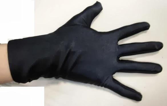 Sarung Tangan Hitam Pendek