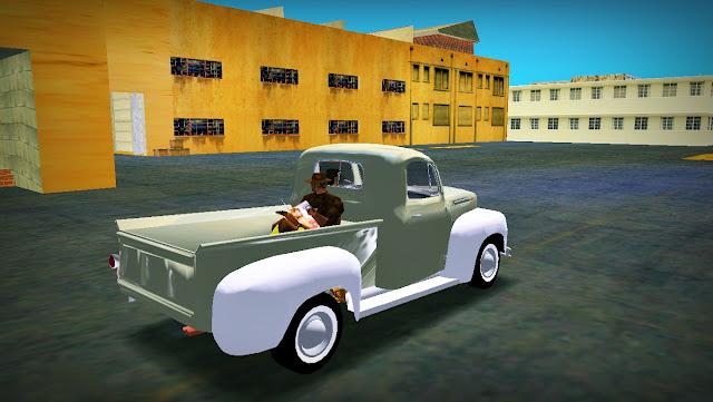 Ford F1 Pick-Up Truck 1952 GTA Vice City