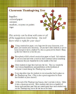 Thanksgiving lesson, free Thanksgiving lesson