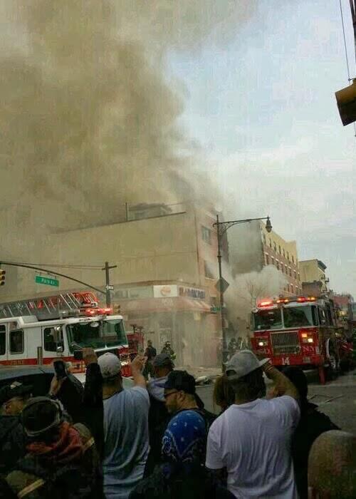 Fotos de Explosion  Edificio de Manhathan