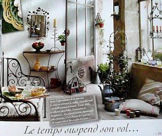 Fransk romantisk inredning