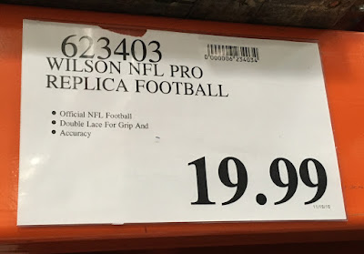 Deal for the Wilson NFL Pro Replica Football at Costco
