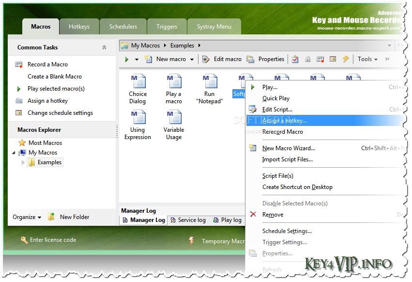 Advanced Key and Mouse Recorder 3.4.1 (Build 4472) Enterprise,Phần mềm ghi lại thao tác chuột và bàn phím