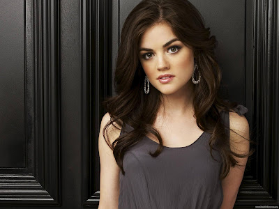 Lucy Hale HD Wallpaper