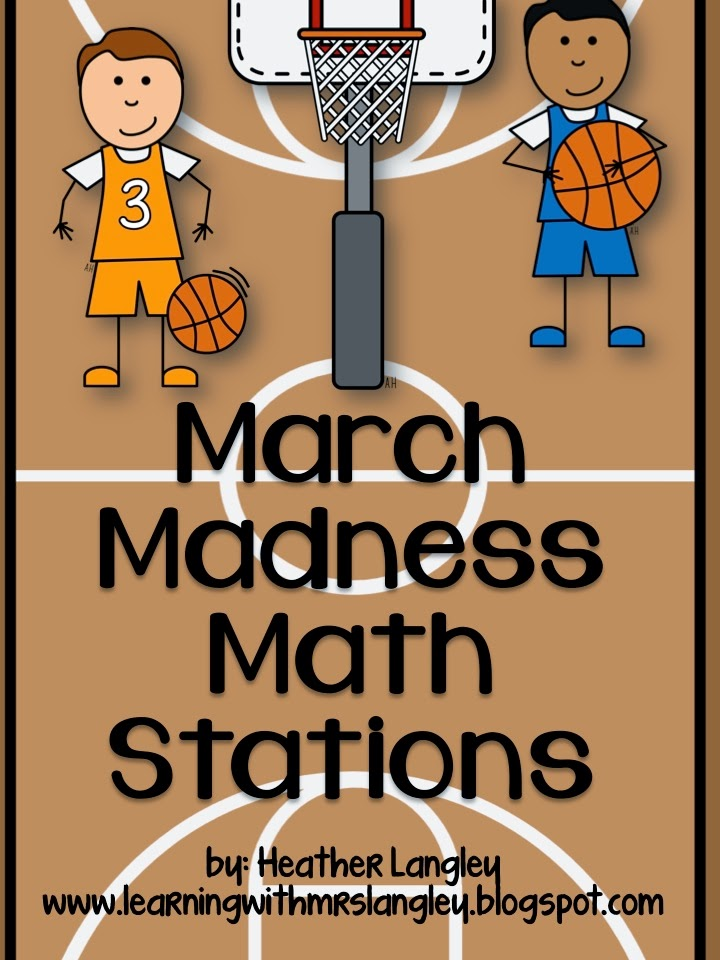 http://www.teacherspayteachers.com/Product/March-Madness-Math-Stations-1139996