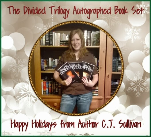 Christmas Gift Guide – The Divided Trilogy by Author C.J. Sullivan