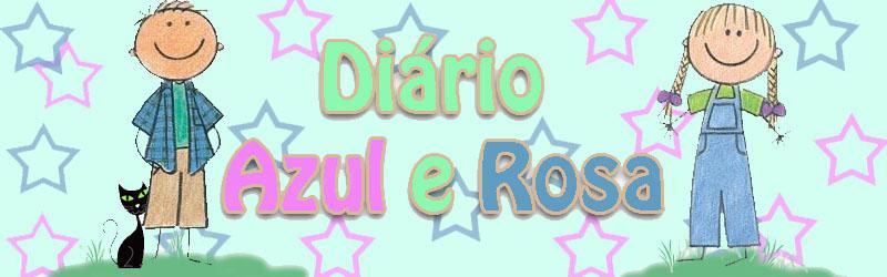Diario azul e rosa