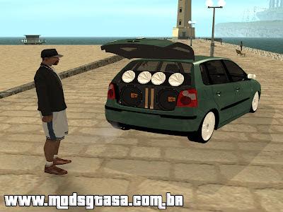 Mod Som Saindo do Porta-Malas para GTA San Andreas