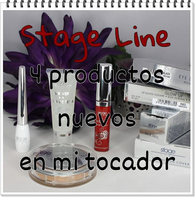 Stage Line, 4 productos nuevos en mi tocador