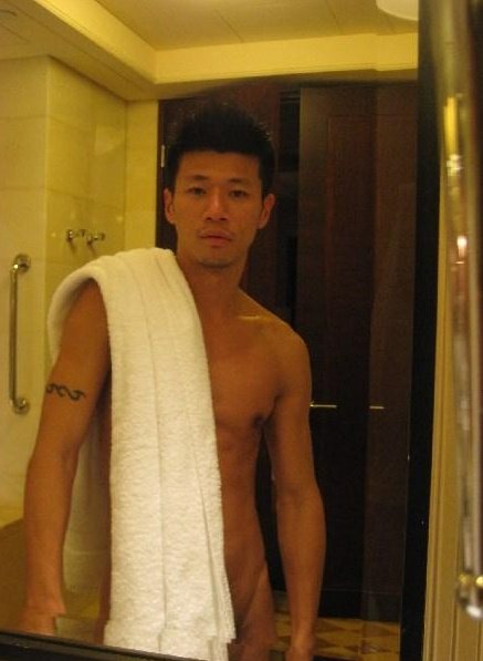 Hot korean guy naked