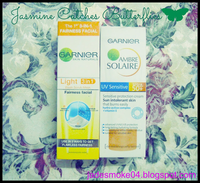 Garnier Light 3 in 1 &amp; Ambre Solaire