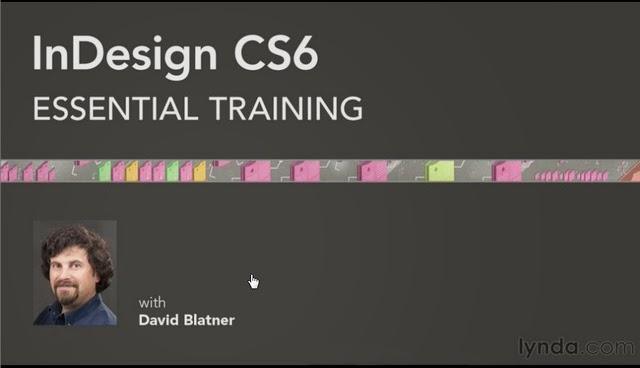 Lynda – InDesign CS6 Essential Training