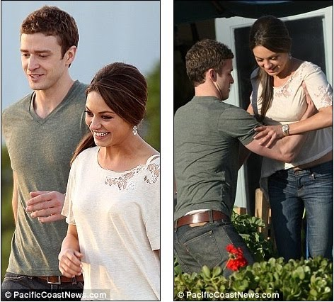 Movies  Justin Timberlake  on Just Pals   Justin Timberlake And Mila Kunis Star In New Film Friends