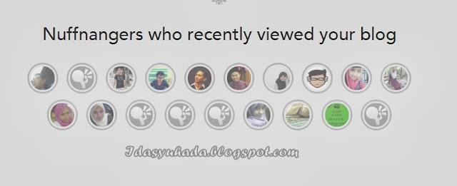 Jom Tengok Siapa Yang Sudi Melawat Blog Dan Nuffnangku!!