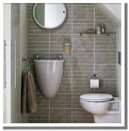Downstairs Bathroom Ideas Bathroom Showers - Small cloakroom toilet ideas