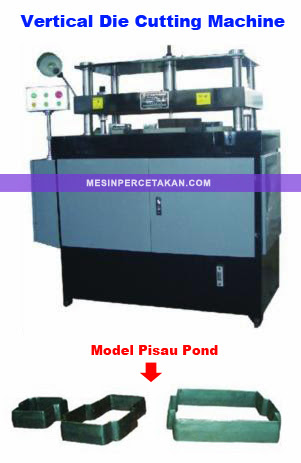 Mesin Pembuat Amplop | Vertical Die Cutting Machine