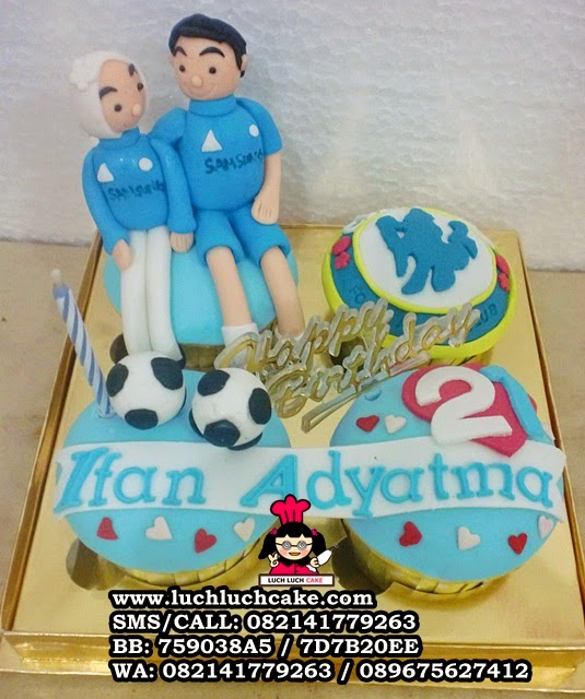 Cupcake Chelsea Birthday Daerah Surabaya - Sidoarjo