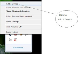 Add a Bluetooth Device