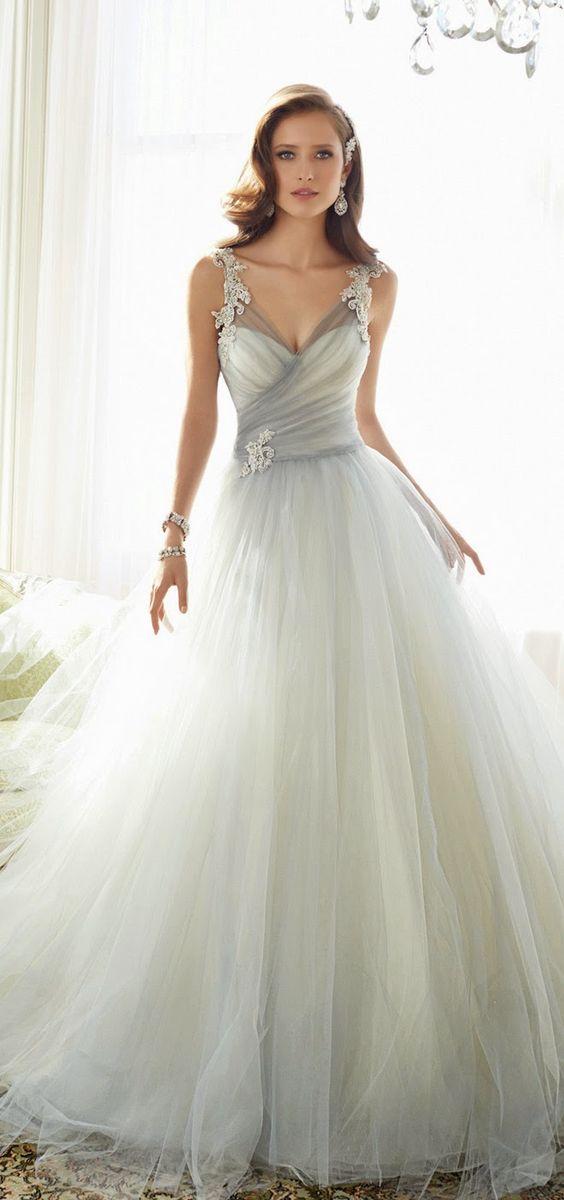 Stunning silver wedding dresses share junglespirit Image collections