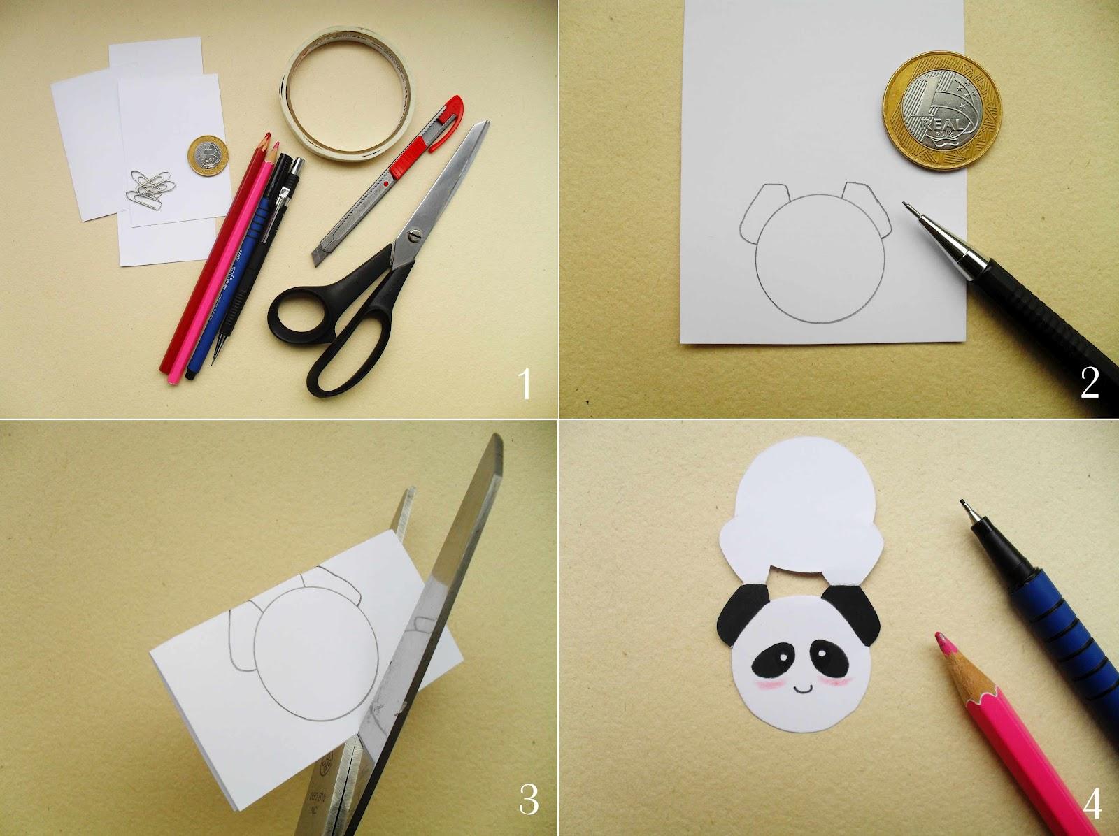 DIY  Clips Decorados Ao Estilo Kawaii