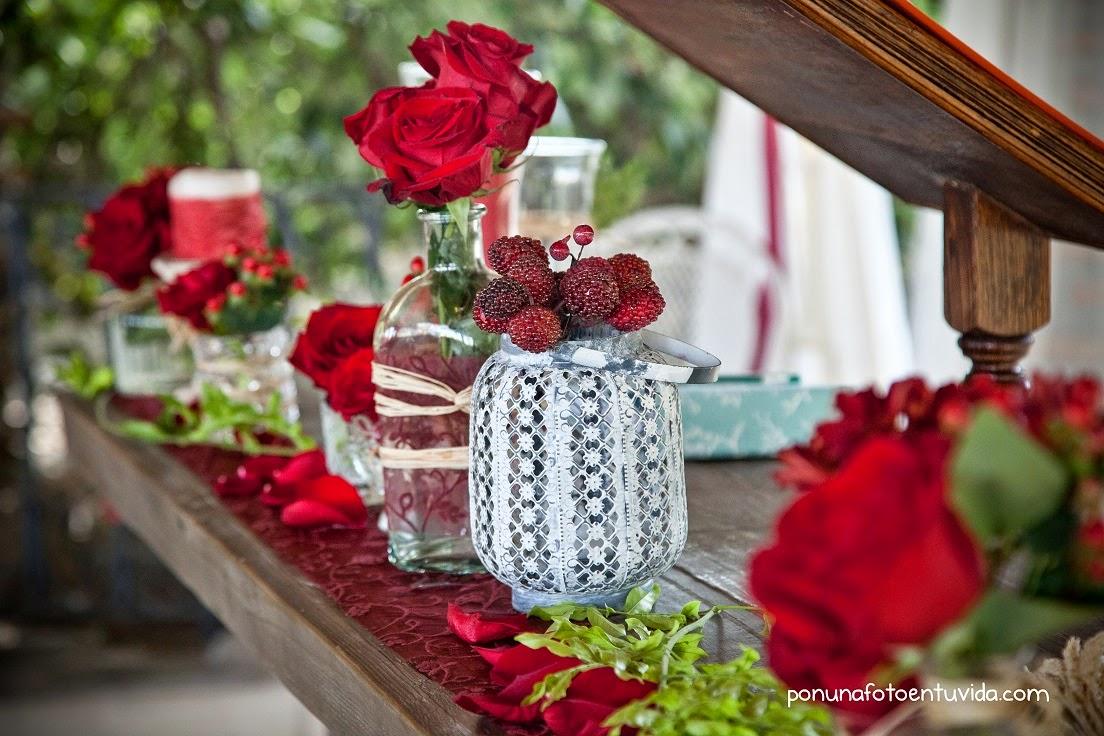 Decoraci n de bodas vintage r stico chic jard n de mar a - Como decorar un jardin rustico ...