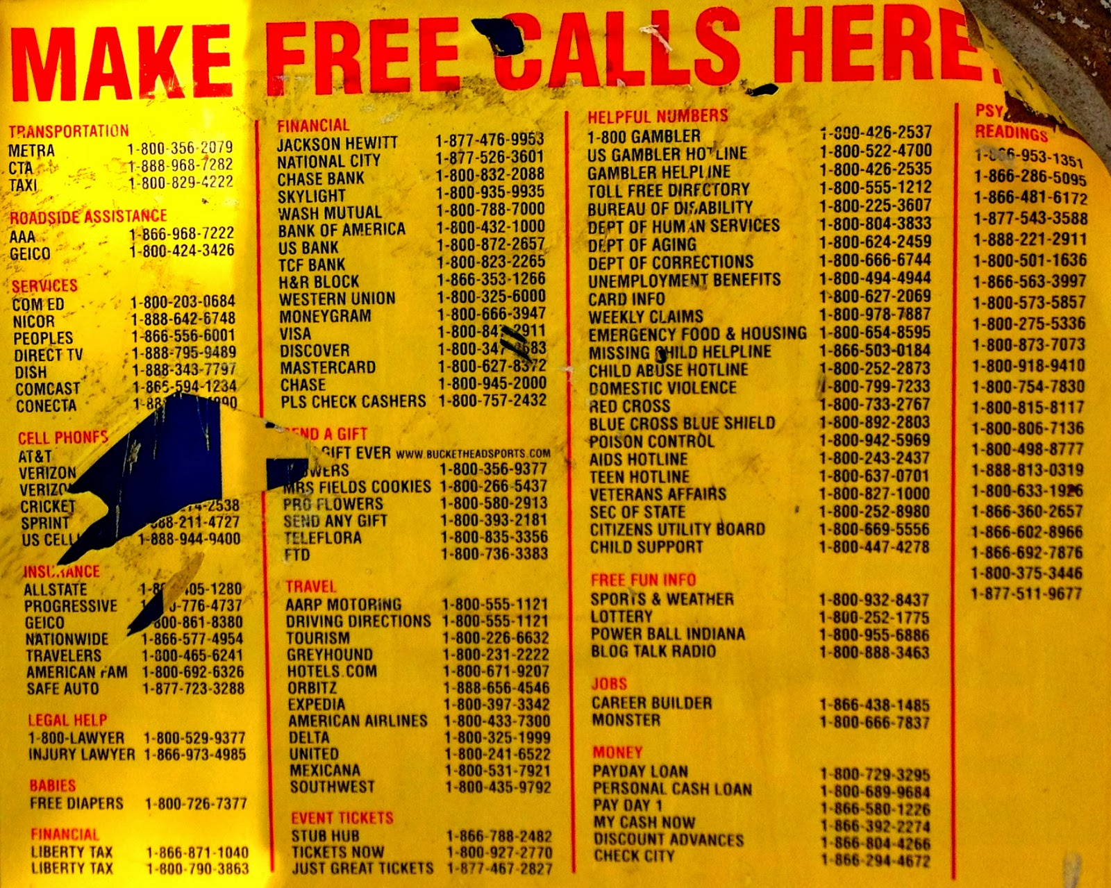 free prostitutes phone numbers