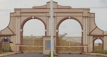 front view gate