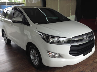 all new kijang innova tipe v warna putih 2015