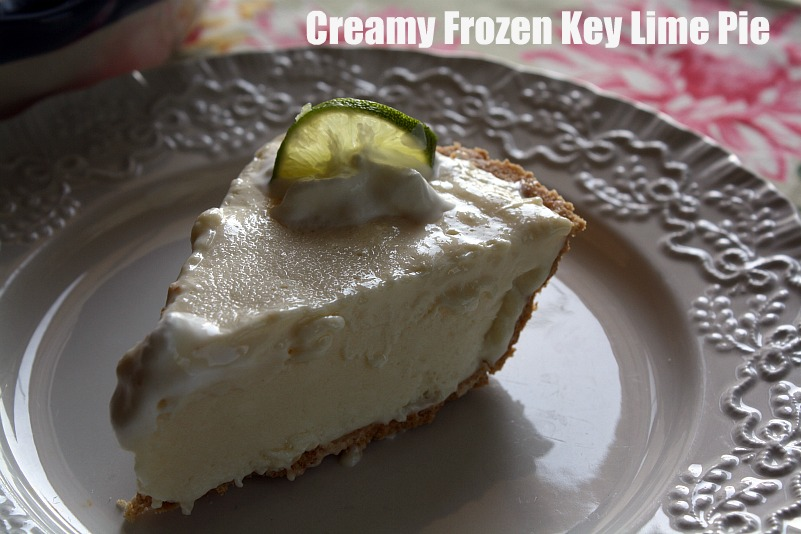 ... Recipes From my Texas Kitchen: Creamy Frozen Key Lime Pie {No Bake