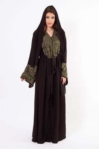 Abaya Styles 2014