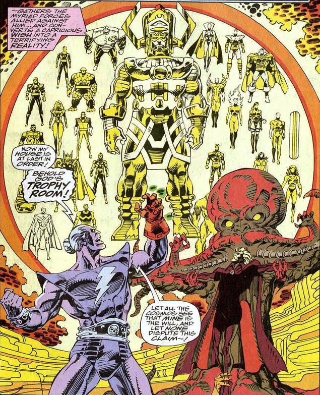 Fantastic Four 370 Magus Warlock trophy room