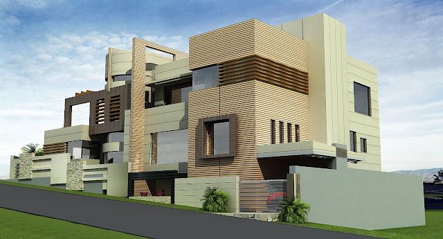 Front Elevation App : D front elevation kanal house