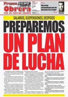 - - - Prensa Obrera Nº 1336 - -