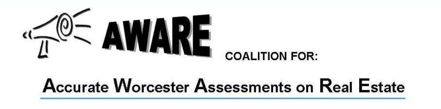 AWARE - Accurate Worcester Assessments on Real Estate