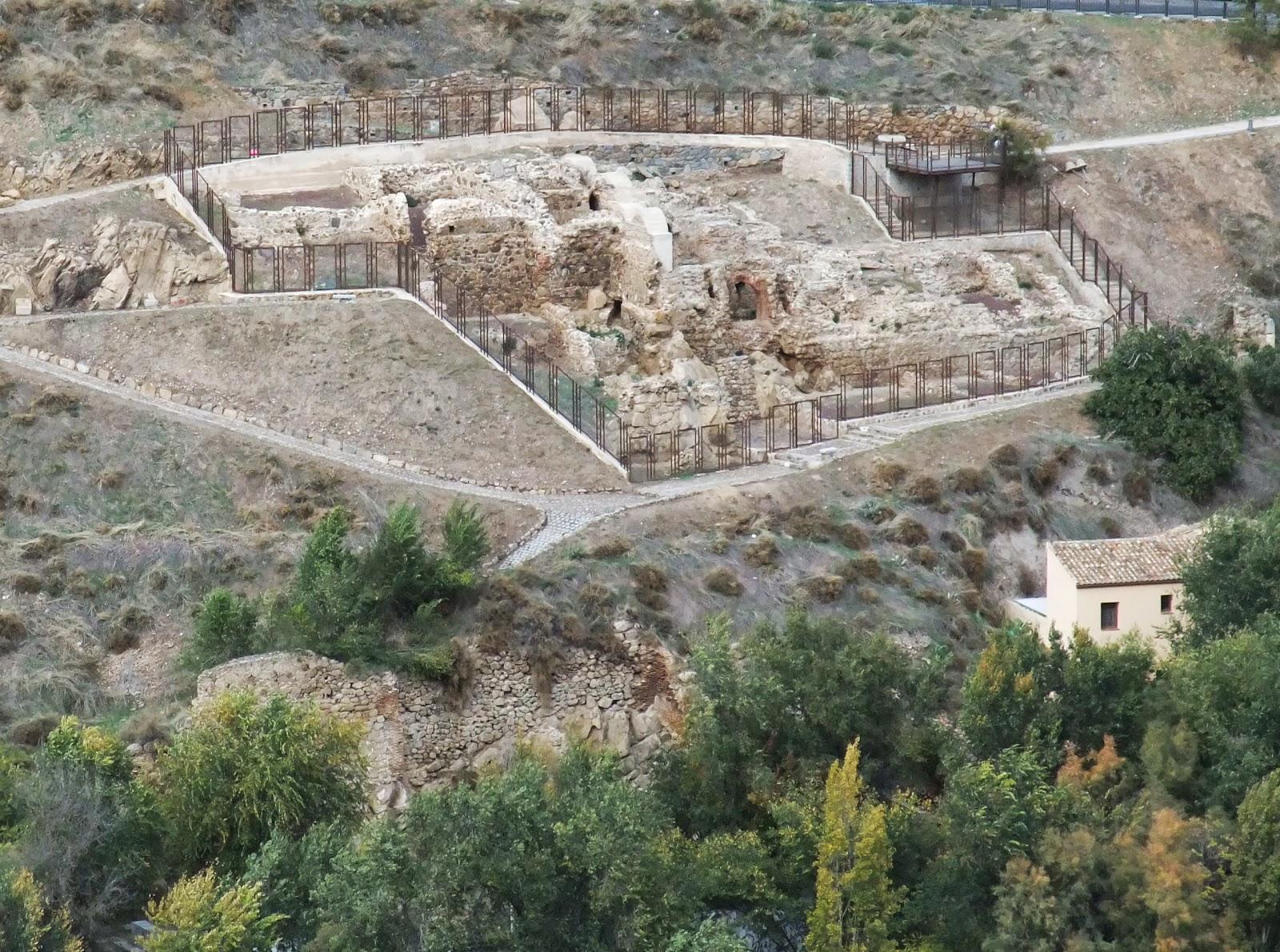 Baños Romanos Toledo:Buscando Montsalvatge: TOLEDO Baños de Suso o de Tenerías