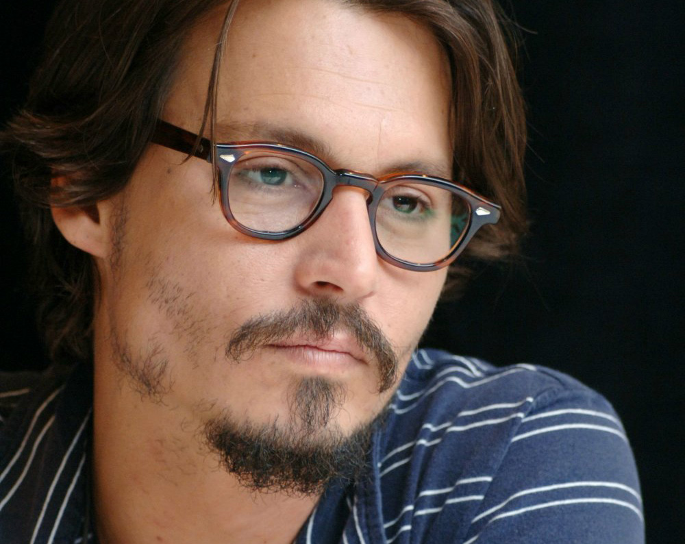 G C W Johnny Depp Beard