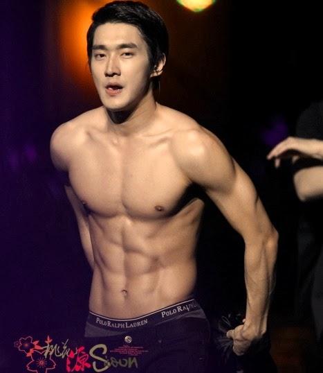 Siwon Muscle Sixpack