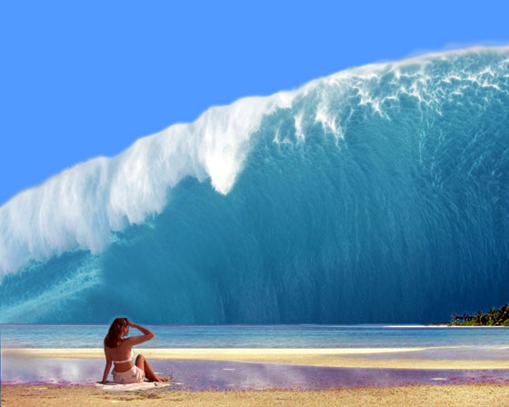 Eat, Drink & Be Merry: July 2013 Indian Ocean Tsunami Wave