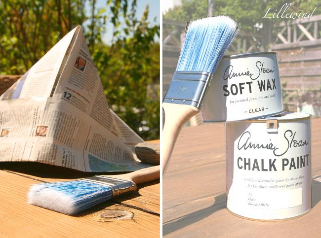 Lillewind: Chalk Paint - Oder die Farbe, die man nicht zusammen mit ...