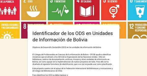 IDENTIFICADOR ODS - BOLIVIA