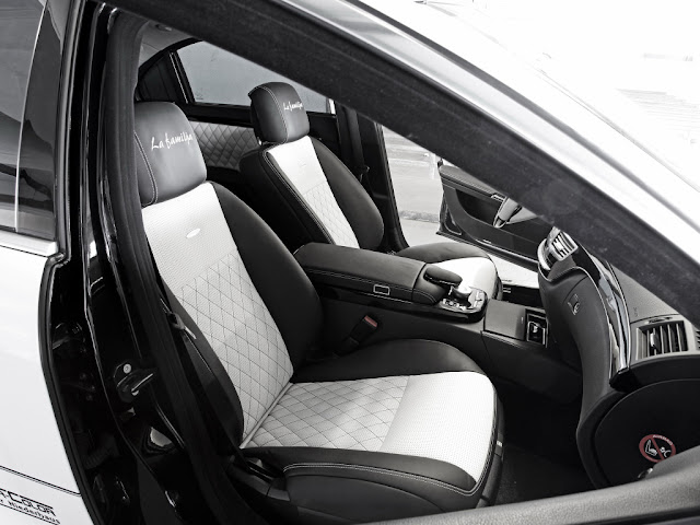 w221 interior
