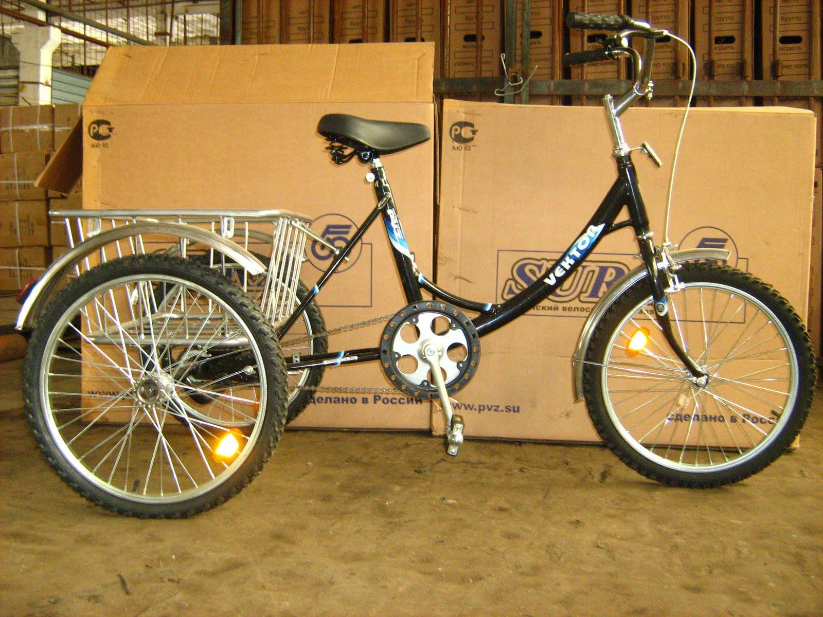 трехколесный взрослый велосипед схема задних колес