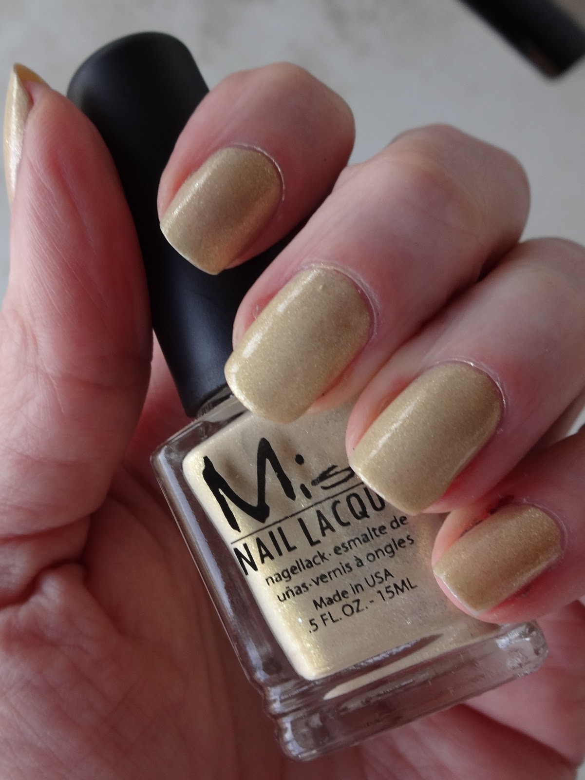 My Empty Nest: Misa Nail Lacquer